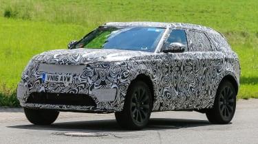 Range Rover Sport Coupe - spy shots front quarter