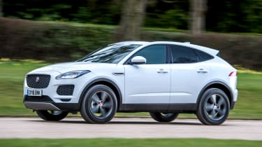 Jaguar E-Pace D150 - front action