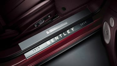 Bentley Continental GT Convertible Number 1 Edition sill