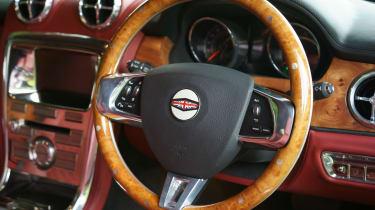 David Brown Speedback steering wheel