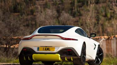 Aston Martin Vantage - rear static