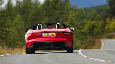 Jaguar F-Type Convertible 2.0-litre 4-cylinder - full rear