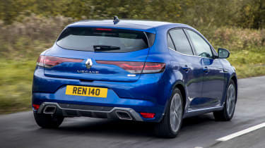 Renault Megane facelift - rear