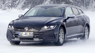 2020 Volkswagen Arteon Shooting Brake - front tracking