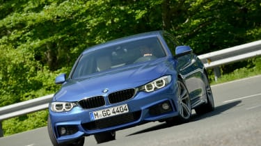 BMW 4 Series Gran Coupe 2014 cornering front