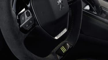 Peugeot 508 Sport Engineered concept - steering wheel
