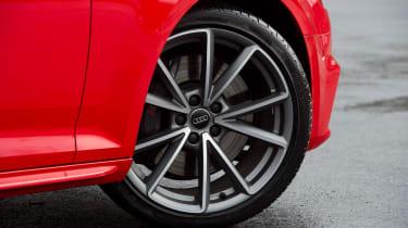 Audi S4 - front wheel detail