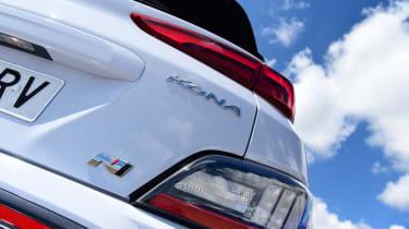 Hyundai Kona N - rear detail