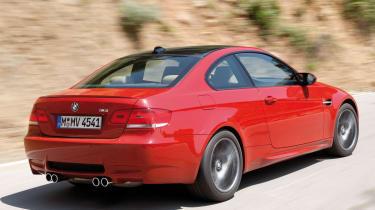 BMW M3 rear tracking
