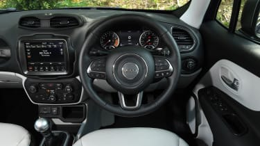 Jeep Renegade - interior