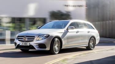 Mercedes E 400 d Estate - front action