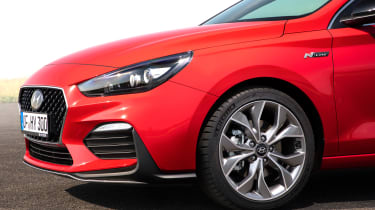 Hyundai i30 N Line front wing