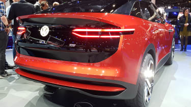 Volkswagen I.D. Crozz II - show rear