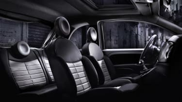 Fiat 500 Street interior