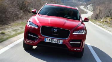 Jaguar F-Pace first drive - front