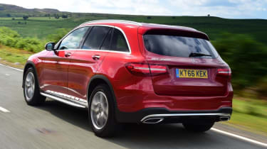 Used Mercedes GLC - rear action