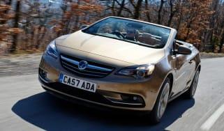 Vauxhall Cascada front tracking