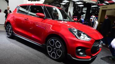 Suzuki Swift Sport - Frankfurt front