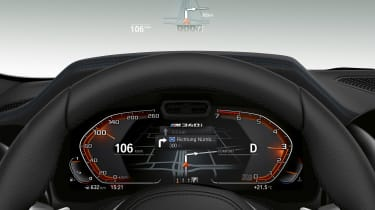 BMW M340i xDrive - head-up display