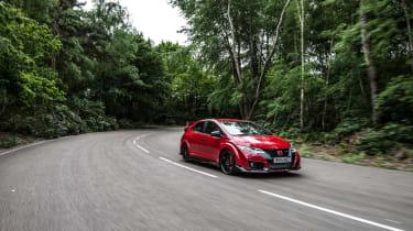 New Honda Civic Type R 2015 tracking