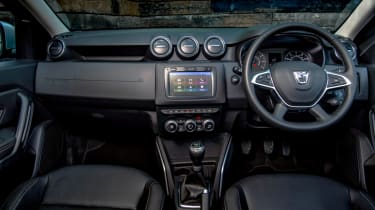 New 2018 Dacia Duster interior