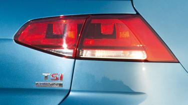 Volkswagen Golf 1.4 TSI badge