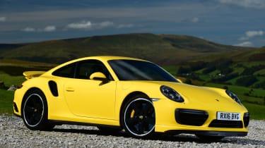 Porsche 911 Turbo - front quarter