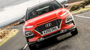 Hyundai Kona review - front grille