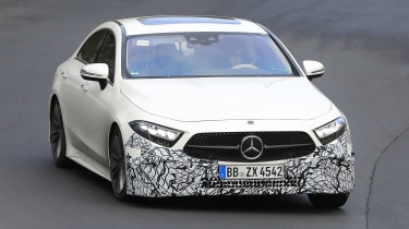 Mercedes CLS - spyshot 4