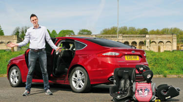 Ford Mondeo long-termer - first report header