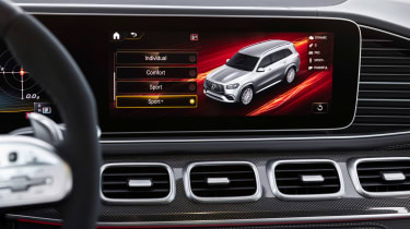 Mercedes-AMG GLS 63 - infotainment