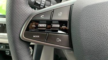 SsangYong Korando long termer - second report steering wheel controls