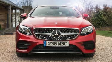 Mercedes E 400 d  Coupe - front static