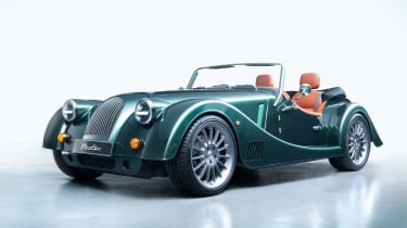 Morgan Plus Six - green front