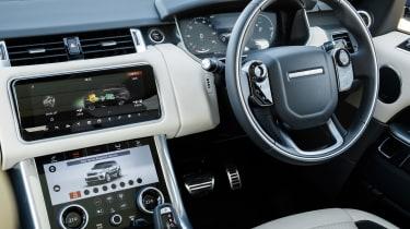 Range Rover Sport P400e - interior