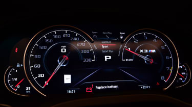 BMW X3M - dials
