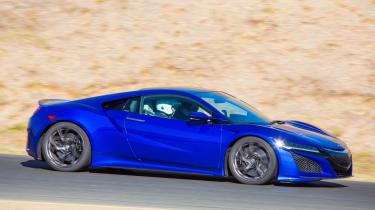 New Honda NSX 2015 side action