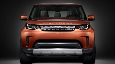Land Rover Discovery - front teaser