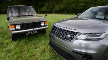 Range Rover Velar vs Range Rover Velar - header