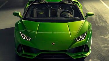 Lamborghini Huracan Evo Spyder - garage front