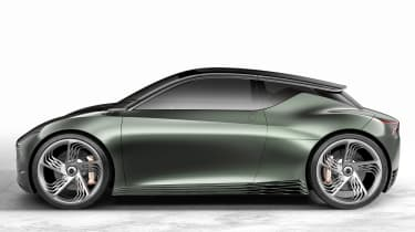 Genesis Mint Concept - side studio
