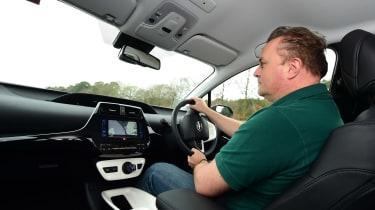 Toyota Prius 2016 UK - Steve driving