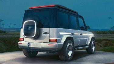 Mercedes Concept EQG - rear