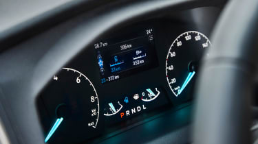 Ford Transit Custom PHEV - dials