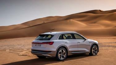 Audi e-tron rear snad