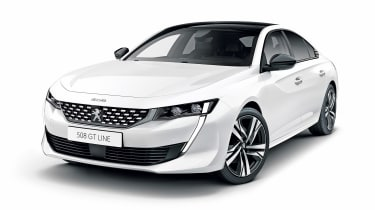 Peugeot 508 - white front
