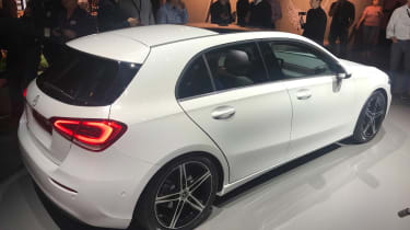 New Mercedes A-Class - reveal white