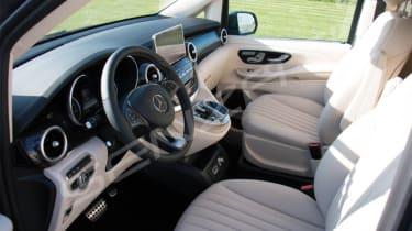 Senzati Mercedes Jet Class front seats