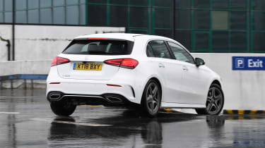 Mercedes A 200 AMG Line long termer - final report rear action