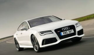 Audi RS7 2013 front action